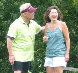 Nick Gegen and Nancy Schmedeke