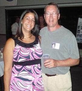 Rhonda Battisto and Bob kaye